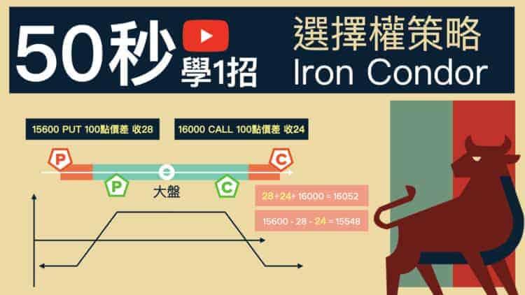 選擇權策略運用 iron condor